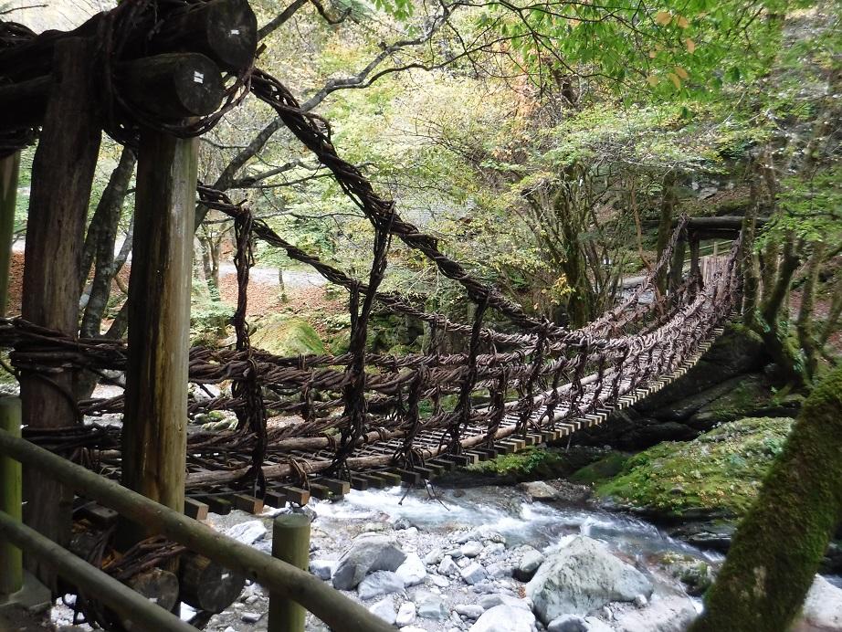 徳島】奥祖谷2重かずら橋:湯け...